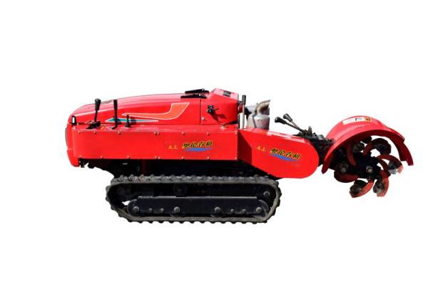 遥控履带自走式旋耕机